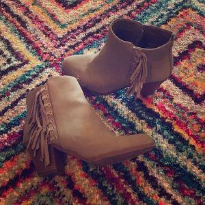 Sam Edelman Gray Ankle Boots